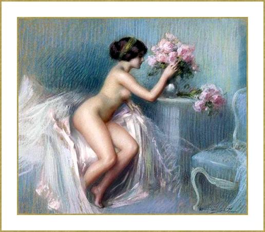 Le bouquet de fleurs *