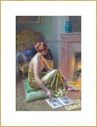 Lecture au coin du feu *