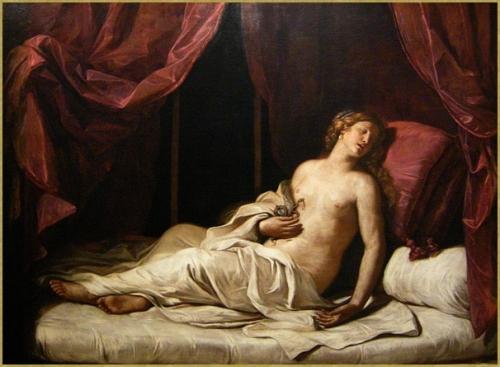 Mort de Cléopatre *