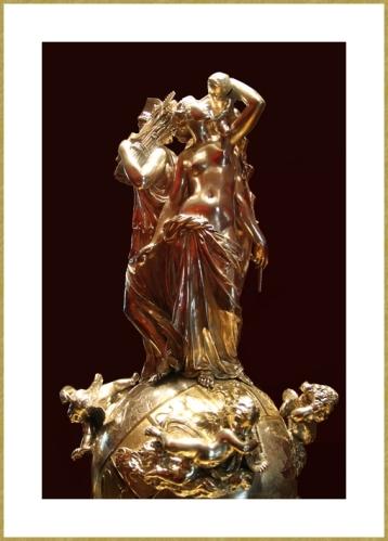 Pièce centrale d'un surtout par Froment Meurice d'après une sculpture de Jean-Jacques Feuchère - 1846