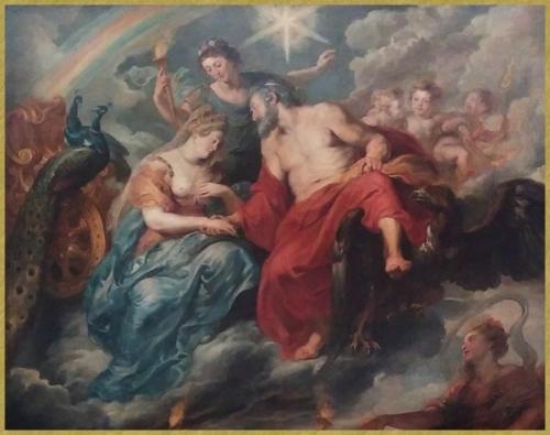 Le mariage d'Henri IV et Marie de Médicis Détail