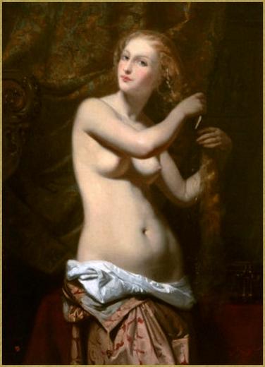 Femme à sa toilette *
