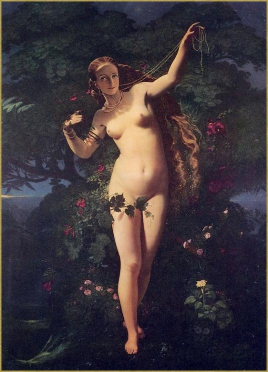 La rosée répandant ses perles sur les fleurs *