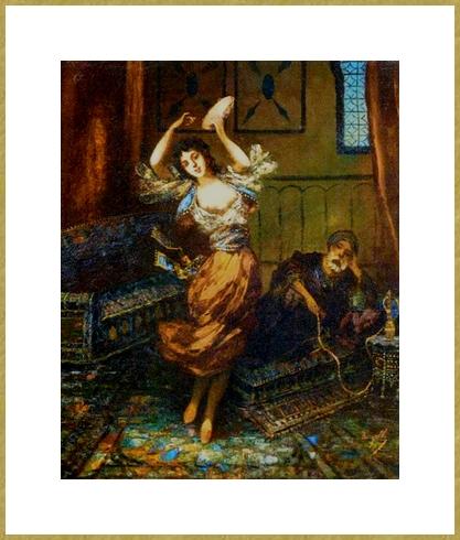 Danseuse au Harem .