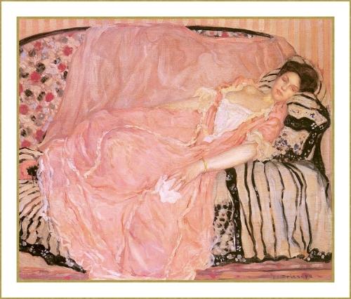 La robe rose. *