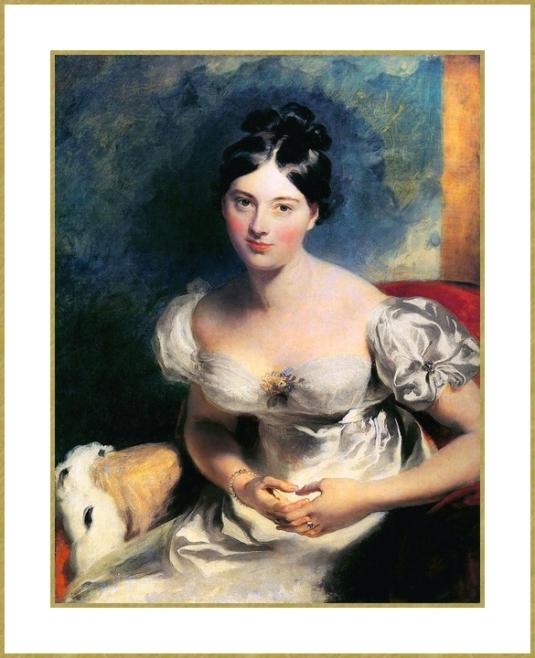La Comtesse Blessington * .