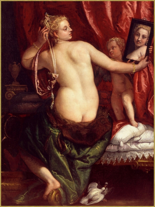 Vénus au miroir *