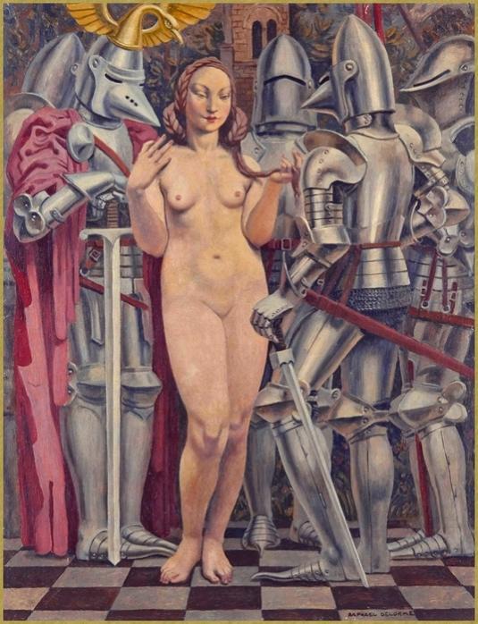Femme aux armures *