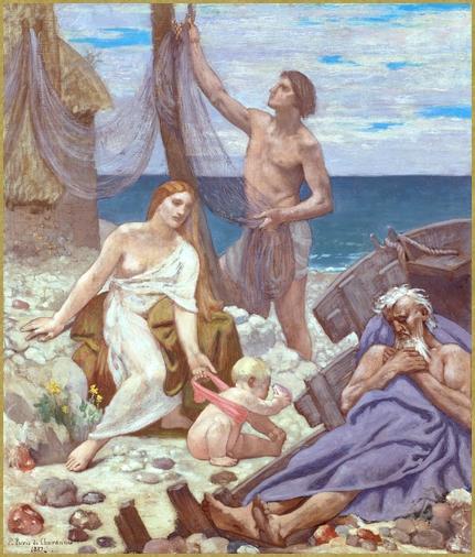 Famille de pécheur *