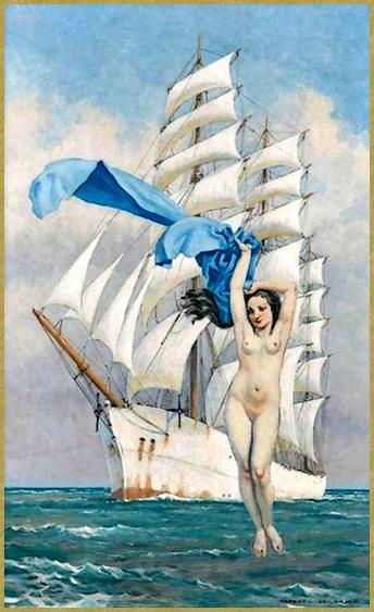 Vénus au voile bleu *