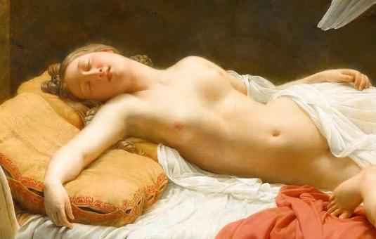 Psyché et Cupidon (détail) *