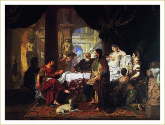 Le banquet de Cléopatre *