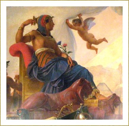 L'étude et le génie dévoile l'Egypte ancienne (détail) *