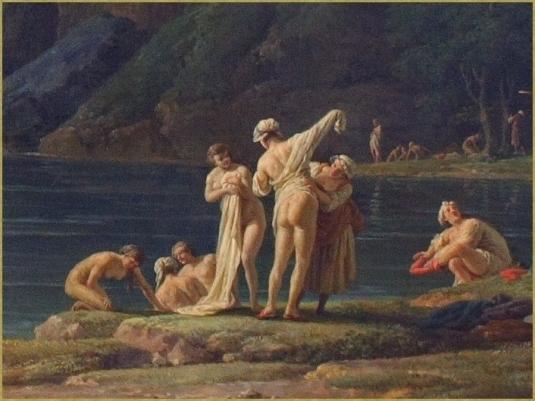 Les baigneuses (détail) *