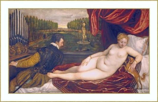 Vénus et musicien *
