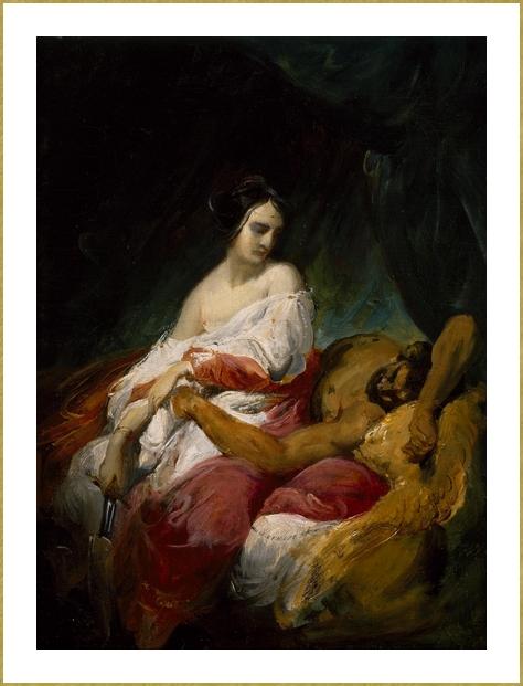 Esquisse pour Judith et Holopherne *