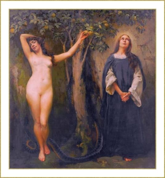 Eve et Marie *