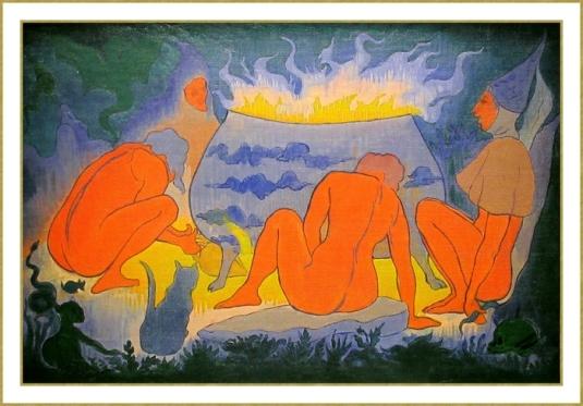 Les sorcières autour du feu *