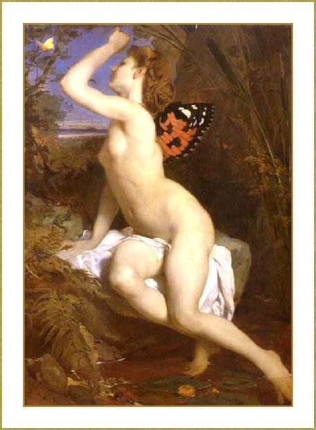 Femme papillon *