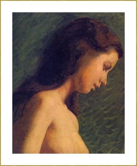 Portrait de jeune fille *