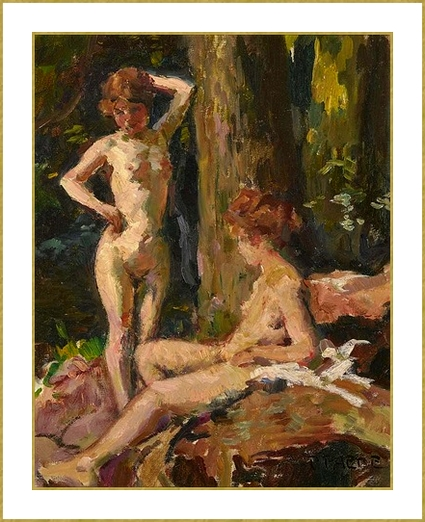 54-paul-paede-two-female-en-foret